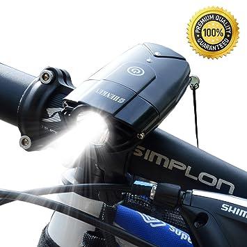 Amazon.com : shenkey Bicycle Lights | 2000mAh/1000 Lumen LED