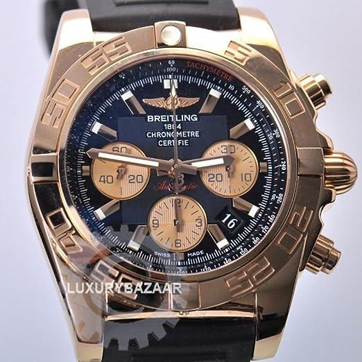 Breitling Chronomat automatic-self-wind Mens Reloj hb0110 (Certificado) de segunda mano: Breitling: Amazon.es: Relojes