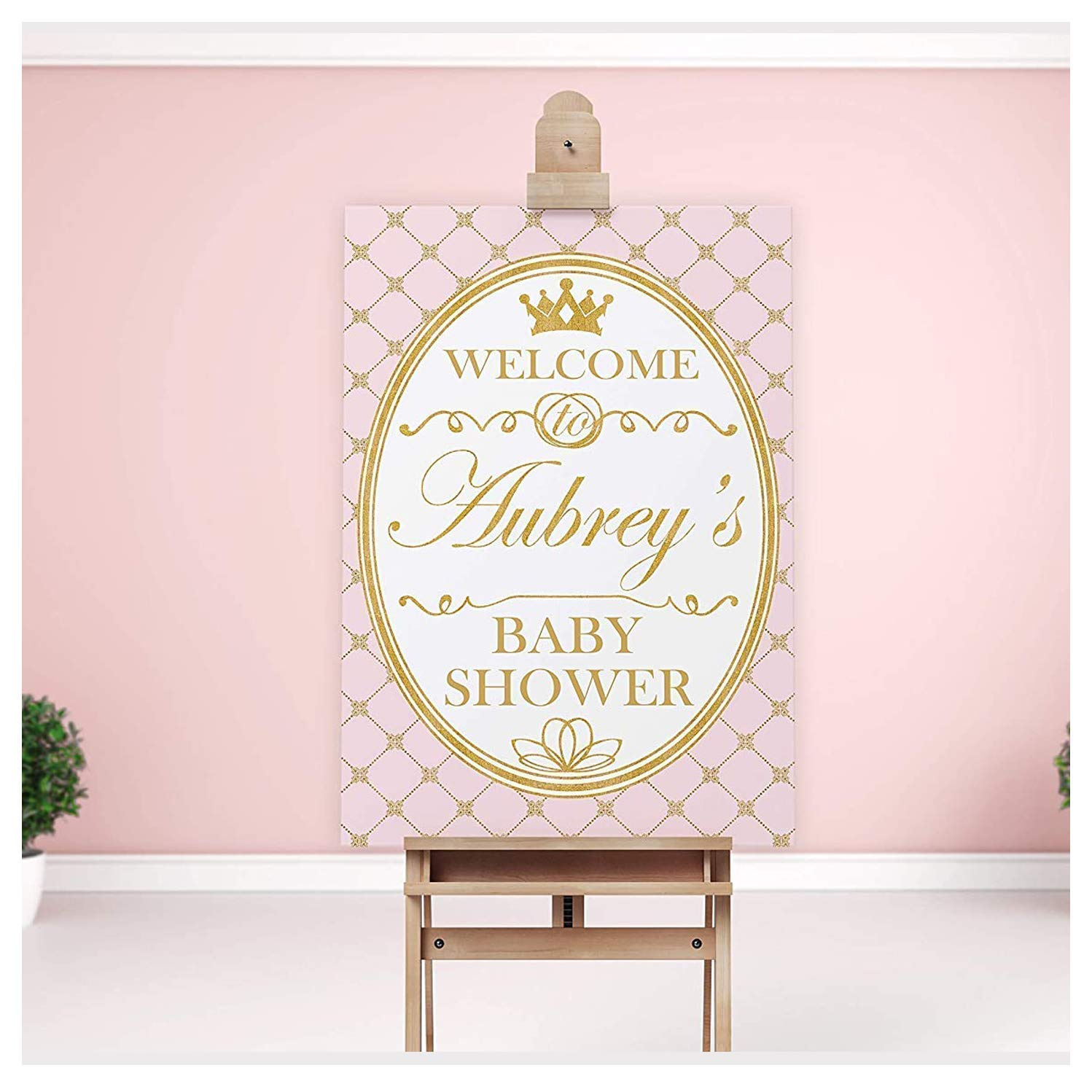 Royal Prince Foam Board Sign Personalized Welcome Sign Royal Baby Shower Welcome Sign Baby Shower Welcome Sign Welcome to the Party Sign