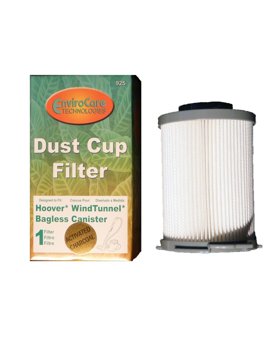 (2) Hoover Bagless WindTunnel Canister Pleated HEPA Vacuum Filter, Windtunnel Vacuum Cleaners, 59134033, HR-1845, S3755, S3765, S3765040 and S3755080, S3755-045, S3765-040. (Part #925) 71RcPobj2nL
