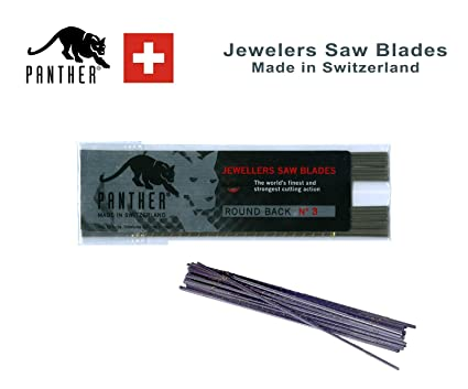 SWISS MADE JEWELLERS PIERCING SAW BLADES PACK OF 12 SIZE 1//0