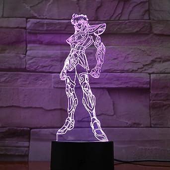 wangZJ 3d Illusion Lamp/Led Night Light/usb Powered / 7 ...