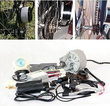 24V36V 450W kit eléctrico de la conversión de la bici kit eléctrico del motor de la bicicleta Kit del motor de E-scooter de DIY Kit del cambio del vehículo eléctrico: Amazon.es: Deportes