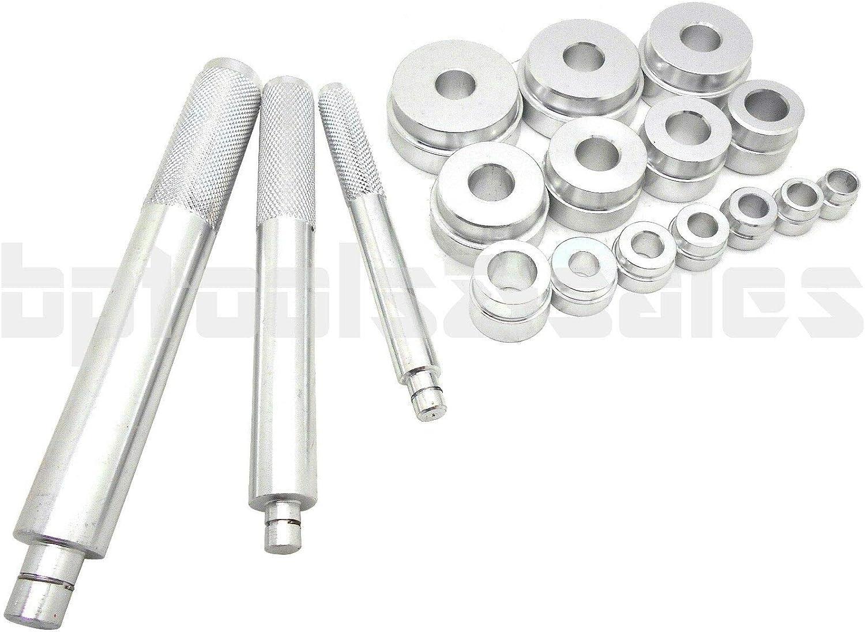 17pc Bushing Bearing Driver Installer Remover Inserting Aluminum Metric Tool kit