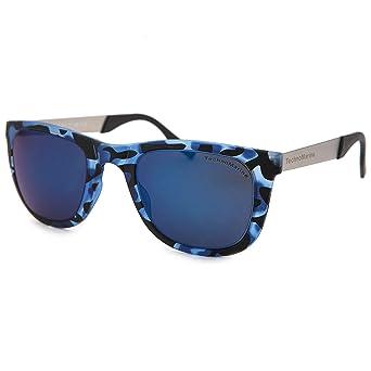 f40490df2e Amazon.com  Techno Black Reef Sunglasses White and Camo Frame