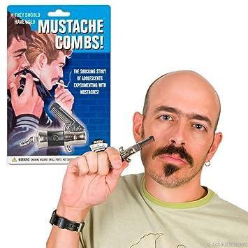 Astonishing Amazon Com Switchblade Mustache Facial Hair Grooming Comb Health Short Hairstyles For Black Women Fulllsitofus
