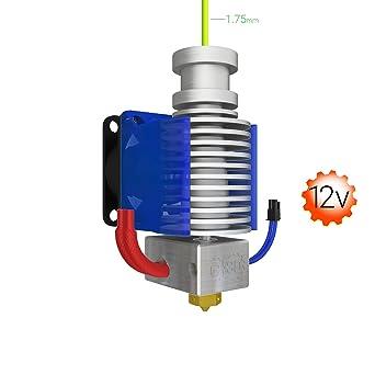 Genuine E3D V6 Hot-End: High Performance 3D Printing 1.75mm (12V,