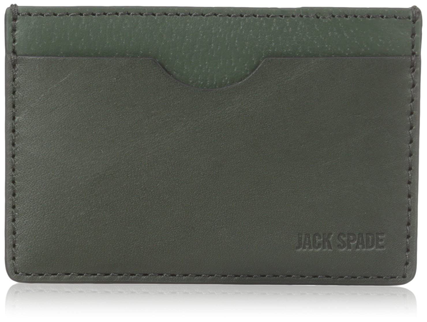 Amazon.com: jack spade otorgar Piel titular de la tarjeta de ...