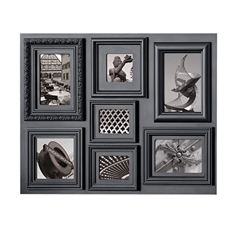 nexxt Fuse Multi-Profile Collage Picture Frame, 7 Opening, 18 by 24 ...