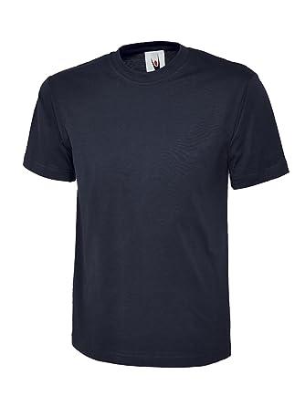 uneek uc301 navy 6xl 180 gsm classic t shirt 6xl