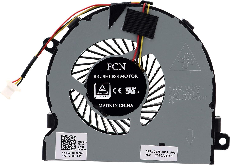 Cooler para  Dell Inspiron CGF6X 3RRG4 03RRG4 DFS170005010T