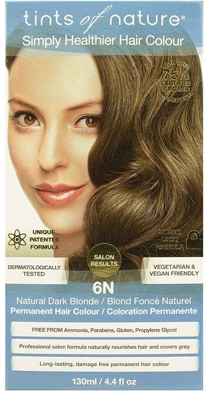 Tints Of Nature, Hair Color Dark Blond 6N, 4.4 Fl Oz