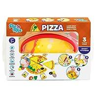 Picnmix Giocattoli Educativi Puzzle per bambini dai 3 ai 7 anni (Pizza)