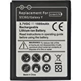 High Capacity Replacement Battery For Samsung Galaxy Y S5360