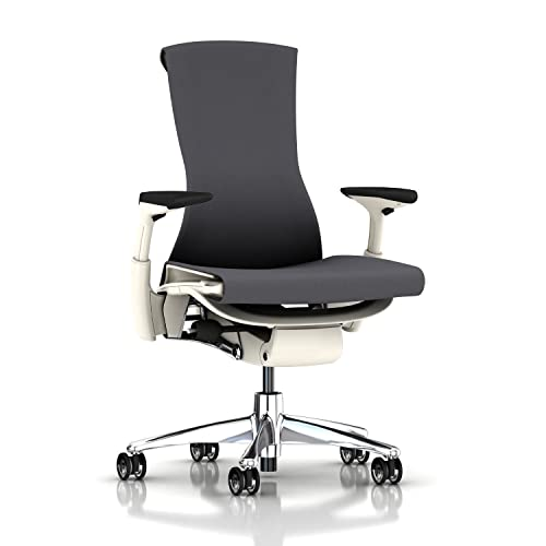 Herman Miller Embody Ergonomic Office Chair with White Frame