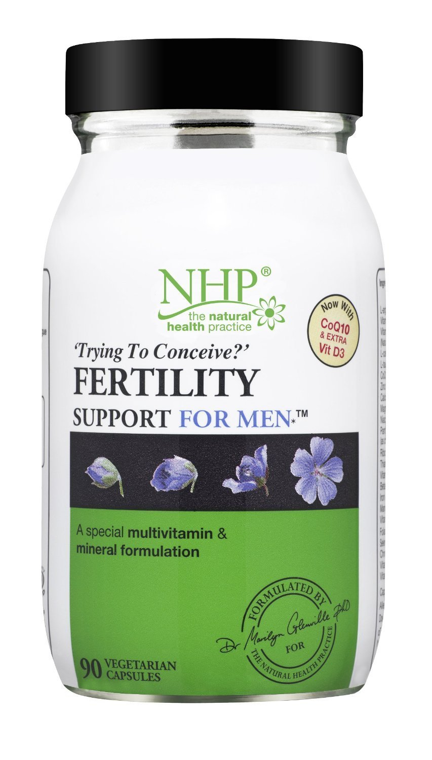(6 PACK) - Nhp Fertility Support For Men Capsules | 90s | 6 PACK - SUPER SAVER - SAVE MONEY