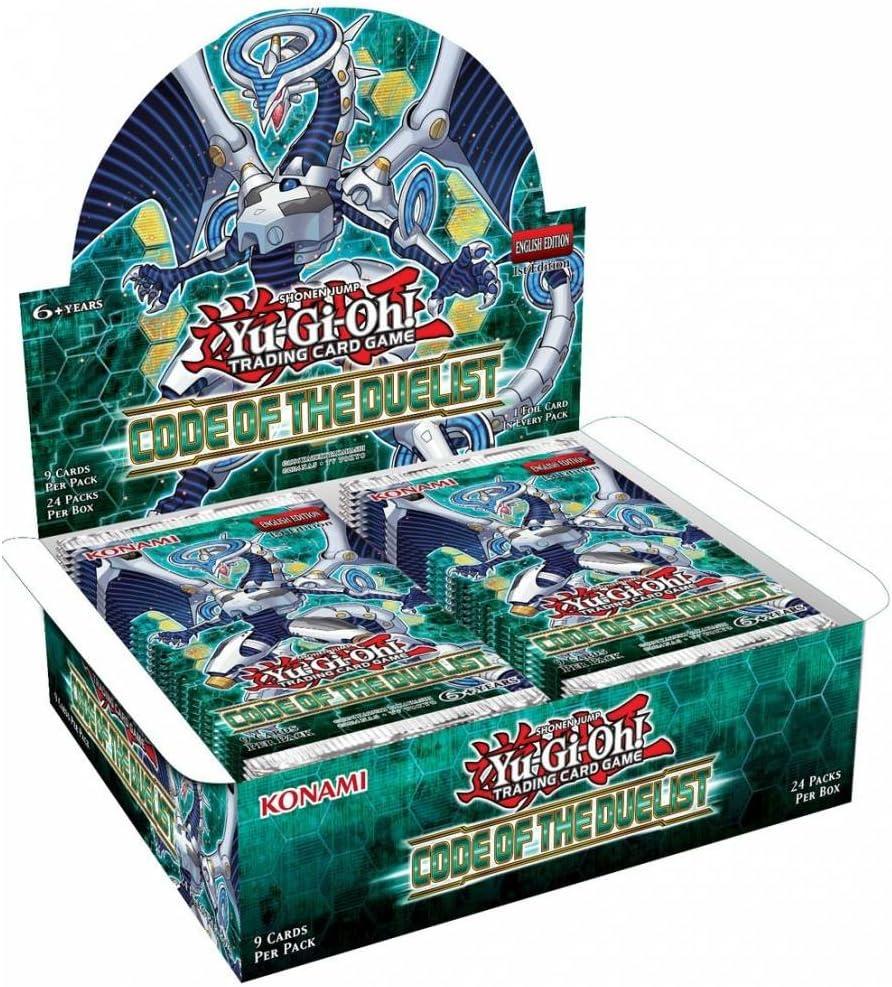 YU-GI-OH!. 15064Código de la duelistas–Booster Pack Display