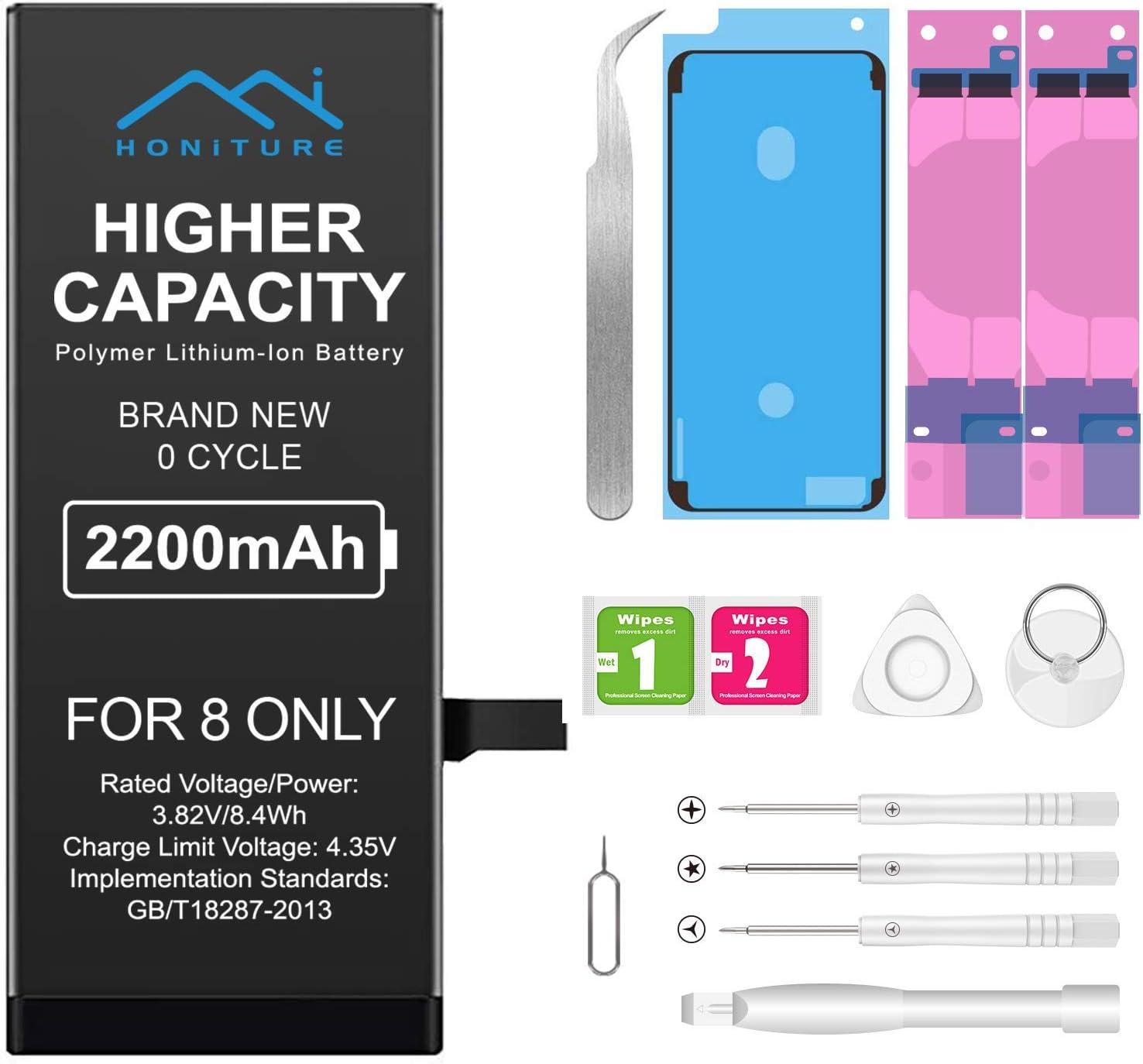 Batería de alta capacidada para iPhone 8 2200mAh