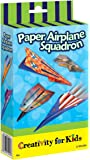 Creativity for Kids F901994 West Design Junior Selection Paper Airplane Squadron Mini Kit, Multi-Color