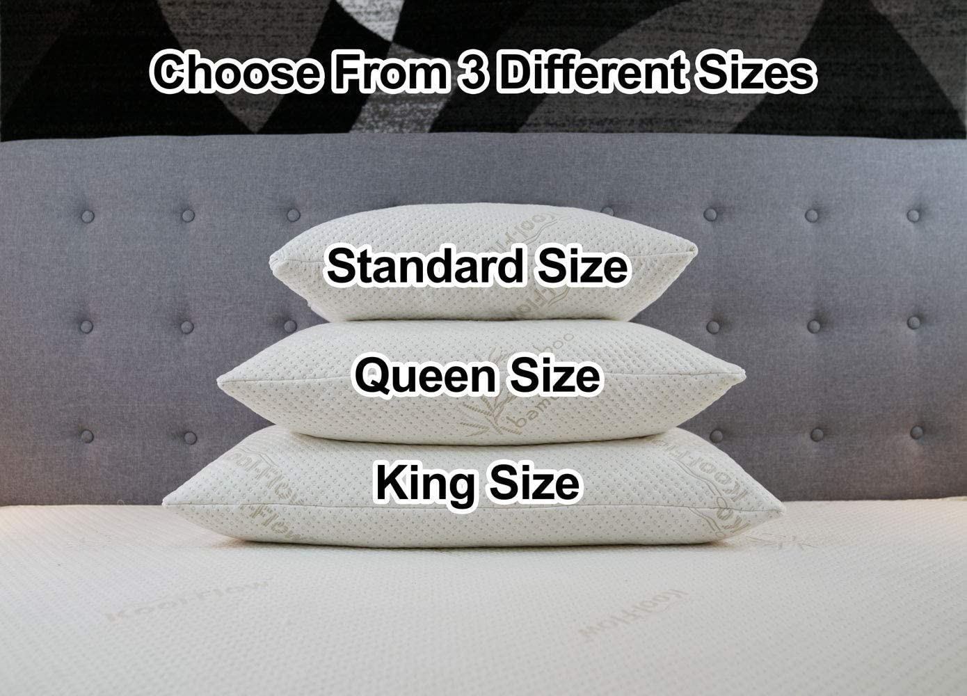 what is the pillow of King size?