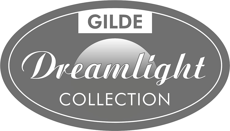 Gilde Figurine Sculpture D/éco Double c/éramique Pomme Rouge//Argent Hauteur 28 cm Largeur 18 cm
