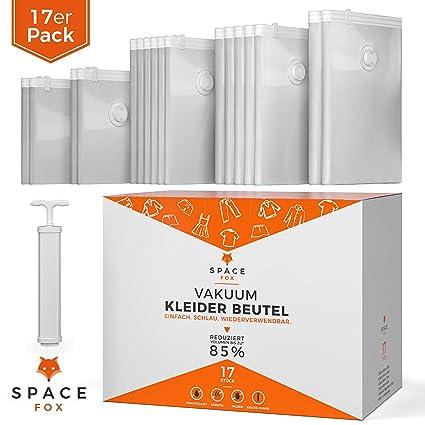 Space Fox - Bolsas de vacío para Ropa (17 Unidades) Juego de ...