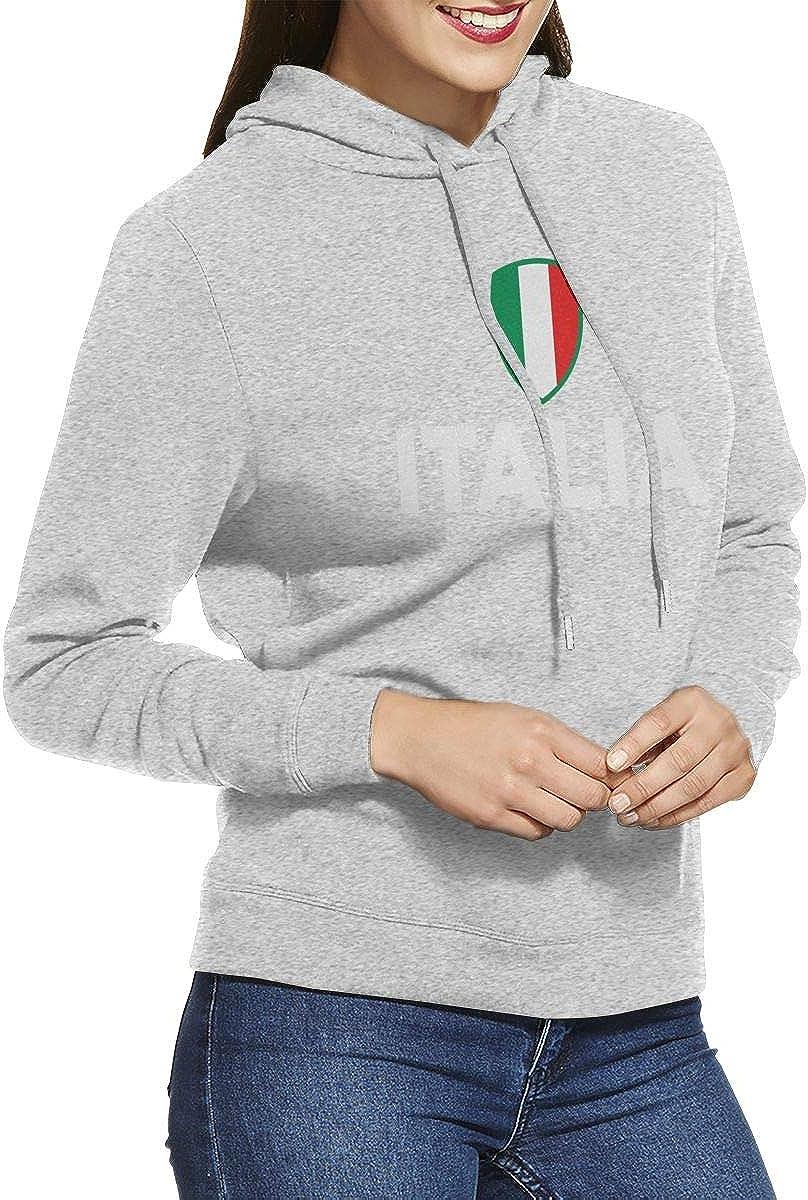 Negi Italia Italy Italian Flag Womens Casual Hoodies Fashion Sweatshirts