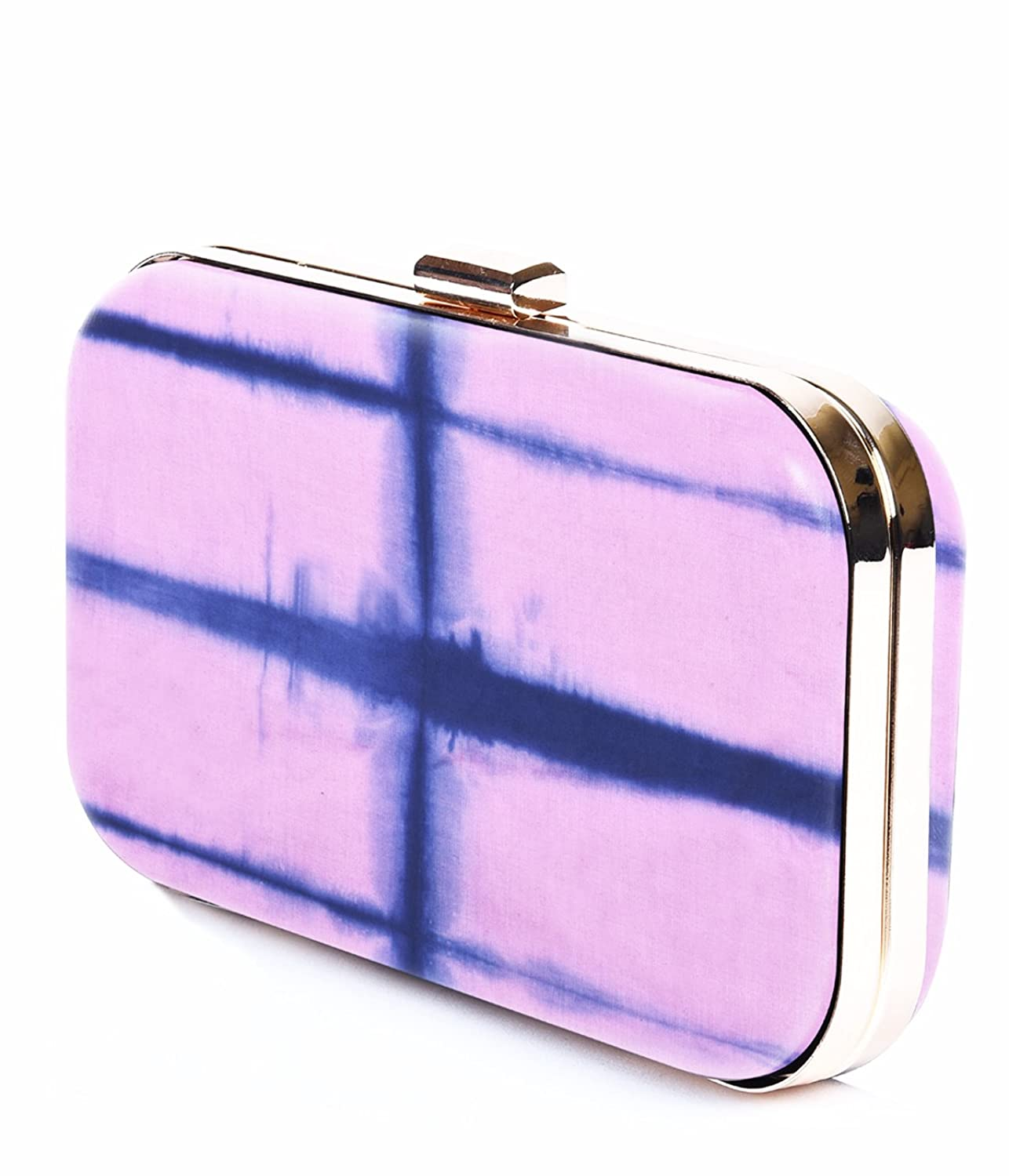 Pink Tie and Dye Women Clutch