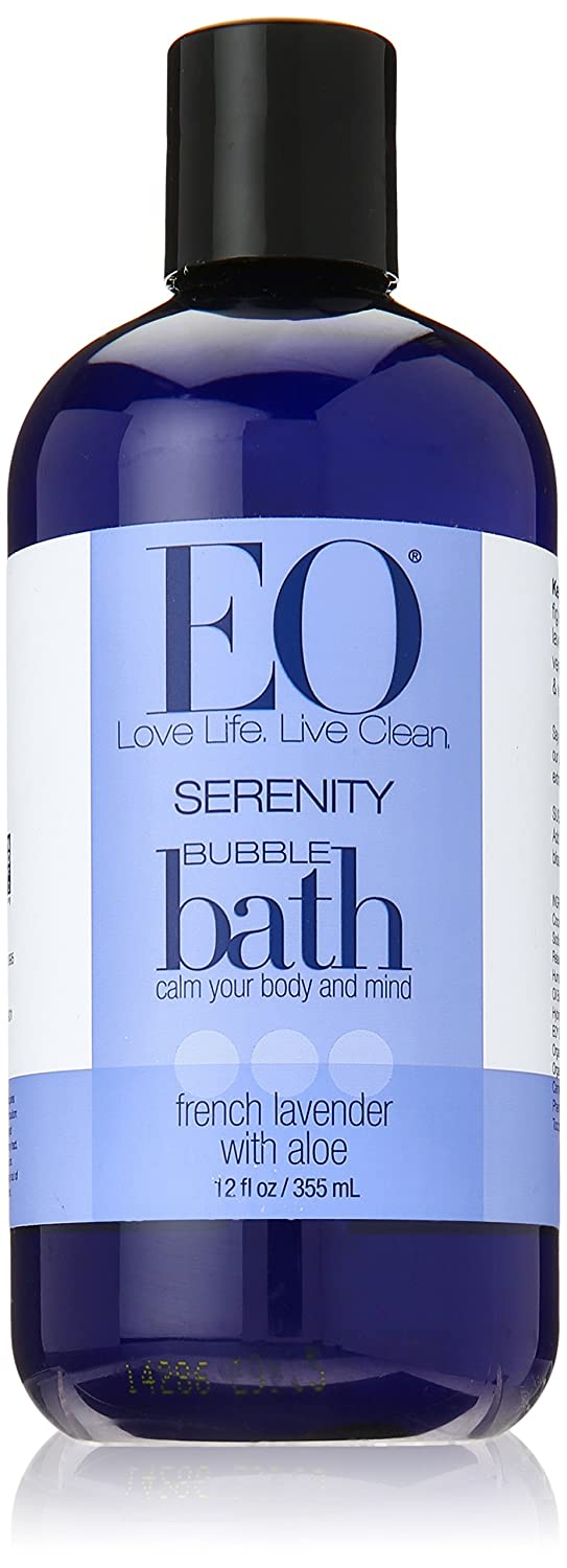 Eo Products Bubble Bath Serenity French Lavender with Aloe - 12 fl oz UNFI - Select Nutrition 030296