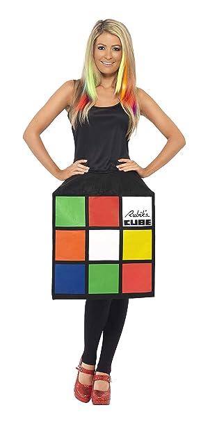 Amazon.com: Smiffy s – Disfraz de cubeta de Rubik de la ...