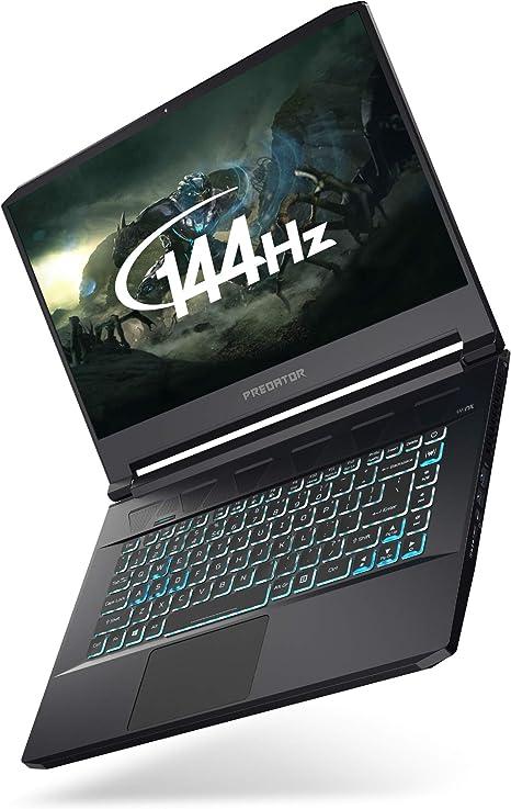 Acer Predator Triton 500 Pt515 51 15 6 Inch Gaming Laptop Intel Core I7 9750h 16gb Ram 2 X 512gb Ssd In Raid Nvidia Geforce Rtx 2060 Full Hd 144hz Display Windows 10 Black Amazon Co Uk