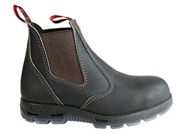 90be40a057166 Redback UBOK Boots Dark Brown Leather Chelsea Boot   Amazon.co.uk ...