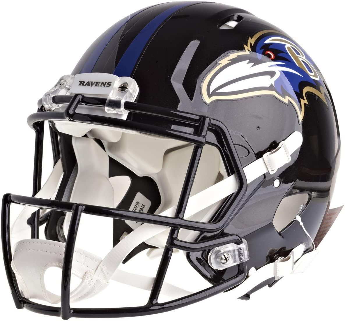 Amazon Com Riddell Nfl Baltimore Ravens Full Size Speed Replica Football Helmet Sports Related Collectible Full Sized Helmets Sports Outdoors