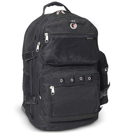 comprar popular d0597 fd425 Everest - Mochila grande para equipaje, Negro, Una talla