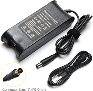 SOLICE 19.5V 4.62A 90W AC Adapter Laptop Charger for Dell Latitude E6410 E6420 E6430 E6440 E6510 E6230 E7450 N7010 N7110 Inspiron 14 15 17 14R 15R 17R 8600 vostro 3460 3560 Xps 17 0cm889 7/5.0mm