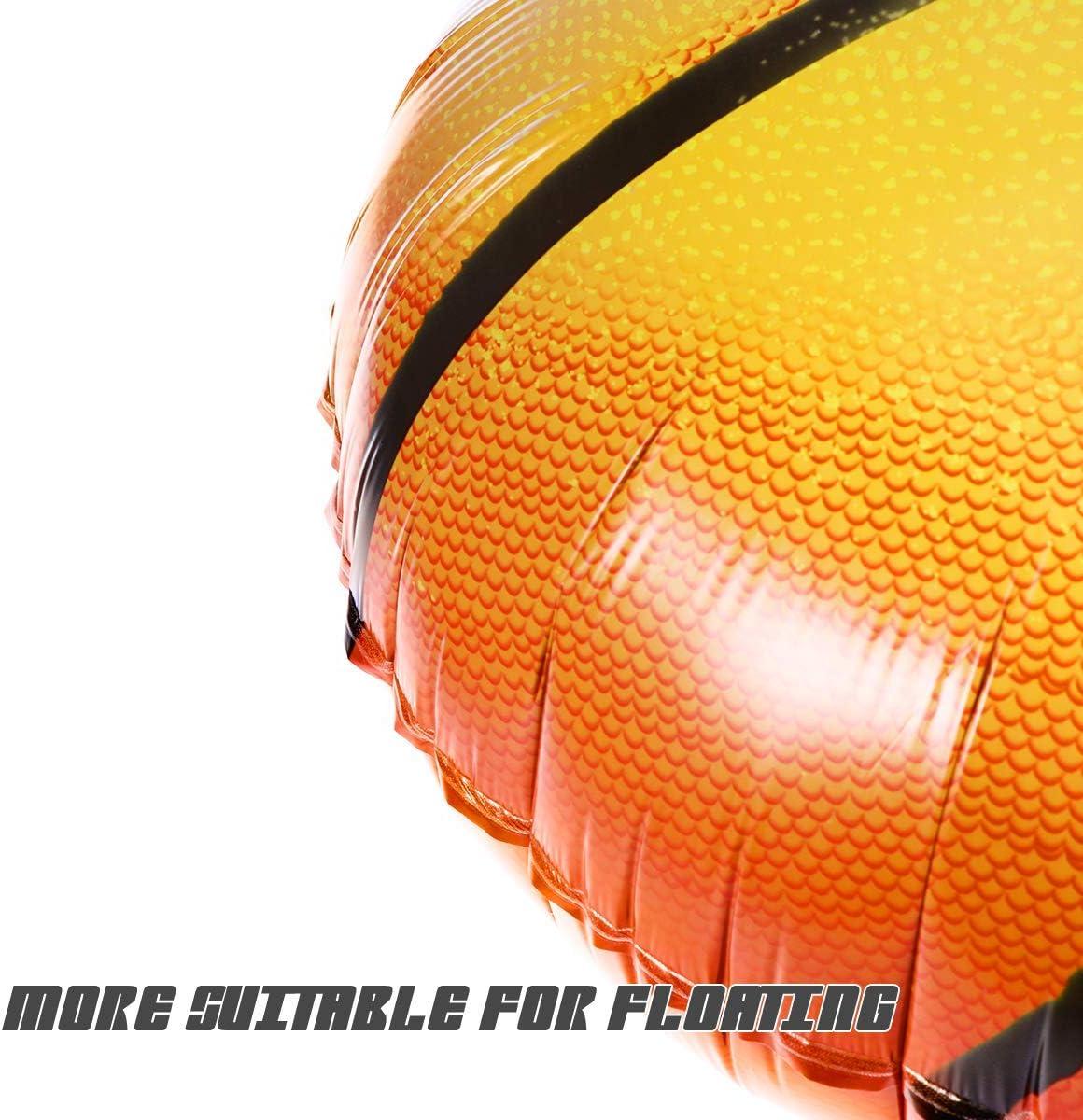 BESTOYARD Globos de Aluminio de Baloncesto para Decoración de ...