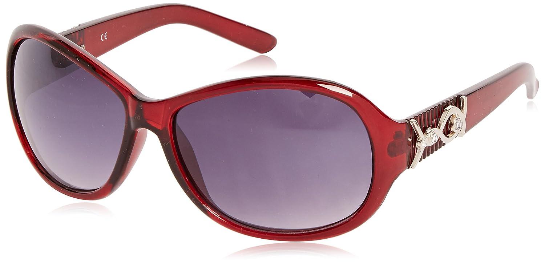 Sunoptic Lunettes de soleil - Homme - Rouge - Red (Burgundy) - Taille unique rjWh1c