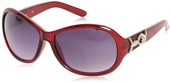 Sunoptic Lunettes de soleil - Homme - Rouge - Taille unique pmhpcUz