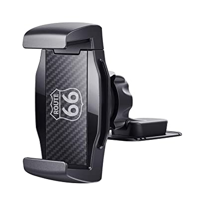 JIMISHA Car Phone Holder Phone Car Mount with Stick On Base Cell Phone Car Mount Sticky Adhesive Mount Holder for for 4 inches to 6.5 inches Smartphones