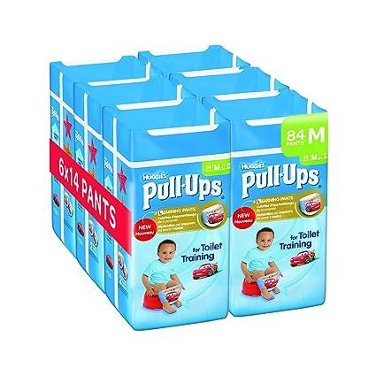 Huggies - Pañales de entrenamiento de día para niños, paquete de 6