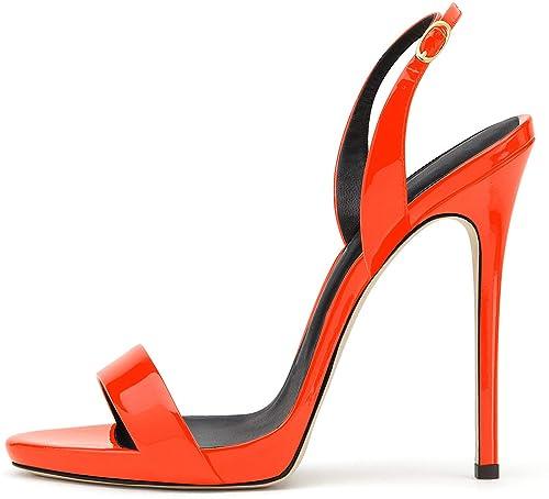 elashe- Scarpe da Donna - Sandali con Tacco Alto - 12CM Sandali- Sandali  della 4ad06482055