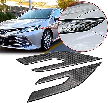 Blue Carbon fiber style Interior dashboard dashboard trim For Toyota Camry 2018