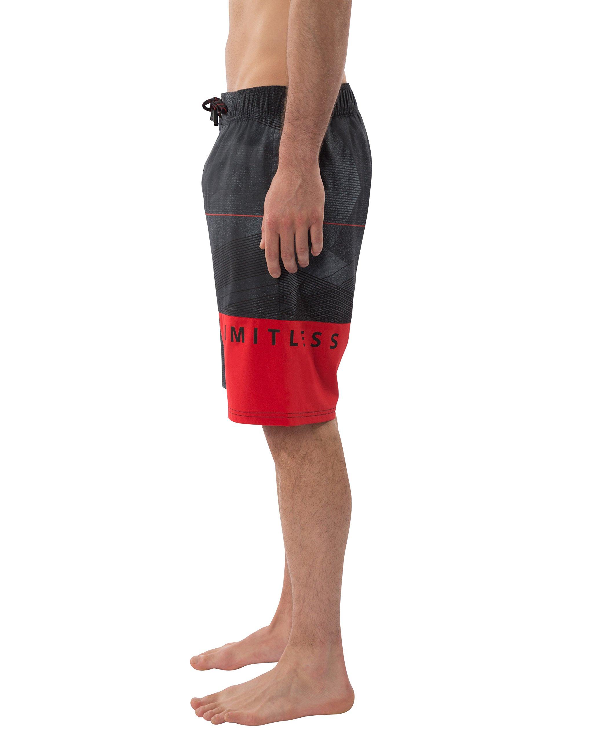 Private Label Stretch Ergo Swim Short (Small, Black)