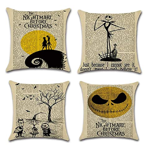 Amazon.com: LoveHome Decor Happy Christmas Series - Juego de ...