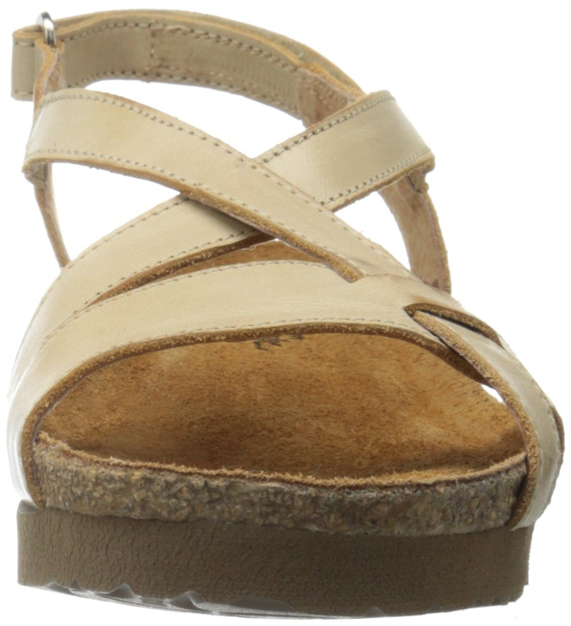 Naot Women's Bernice Wedge Sandal, Biscuit Leather, 35 EU/4.5-5 M US by NAOT (Image #4)