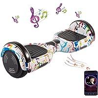 """Hoverboard, 6,5 """"Premium Hoverboard -Bluetooth Speaker - Krachtige Dual Motor - LED - Elektrische Skateboard Self…"""