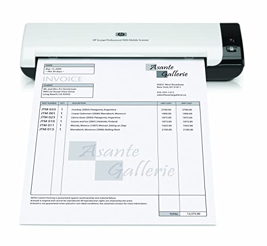 amazoncom hp scanjet mobile scanner l2722a office products