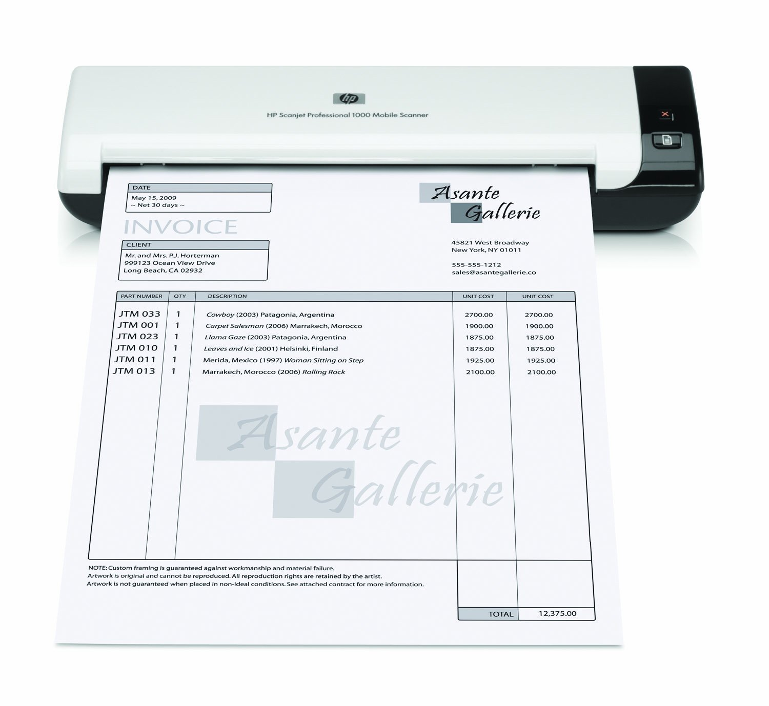HP Scanjet Professional 1000 Mobile Scanner, (L2722A) by HP (Image #5)