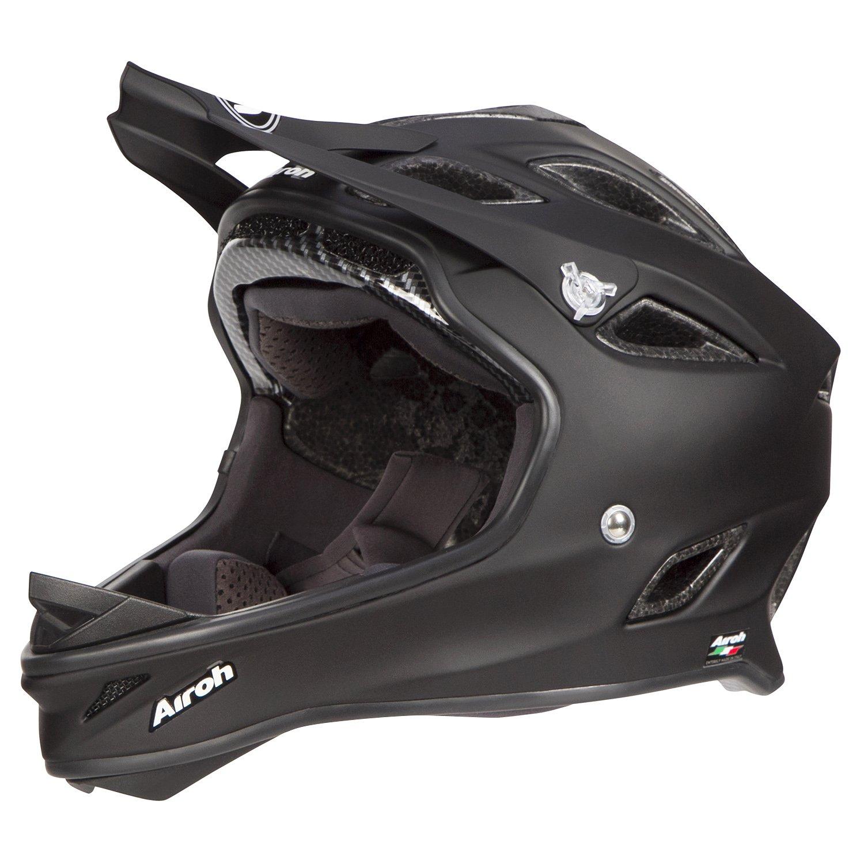 Airoh Downhill - Casco para bicicleta de montaña SE101 Color - Negro Mate, negro: Amazon.es: Deportes y aire libre