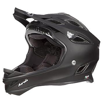 Airoh Downhill – Casco para bicicleta de montaña SE101 Color – Negro Mate, ...